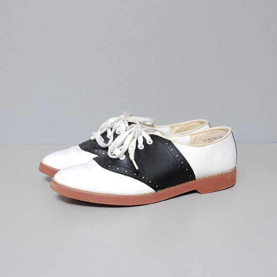 Boogie shoes, Oxford flats, Vintage shoes