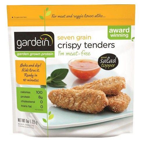 Gardein Seven Grain Frozen Crispy Tenders 9oz Vegetarian Chicken Food Meat Free