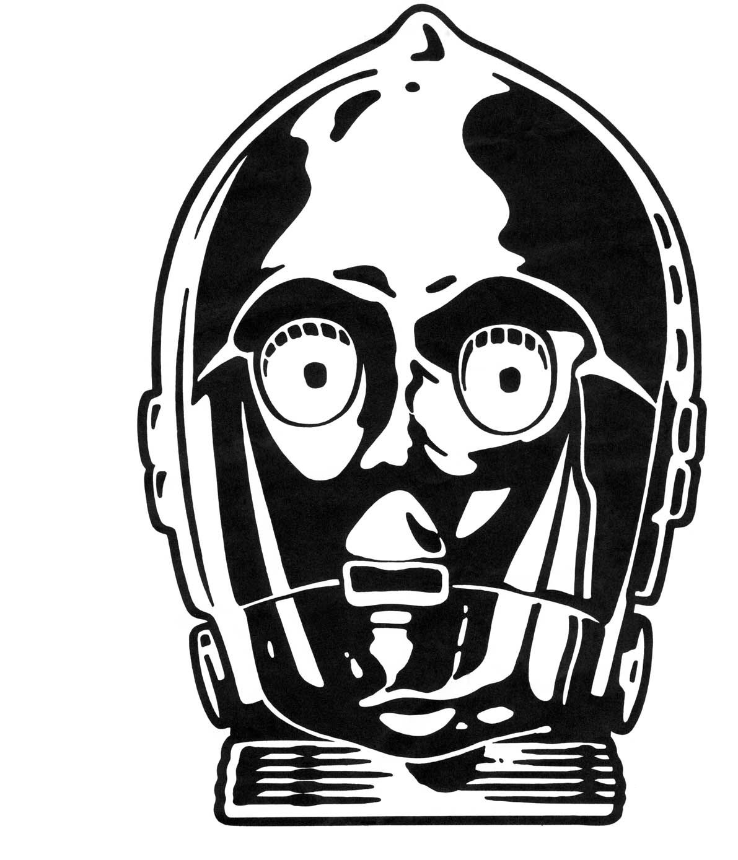 2 fabric applique idea star wars inspired Star wars masks