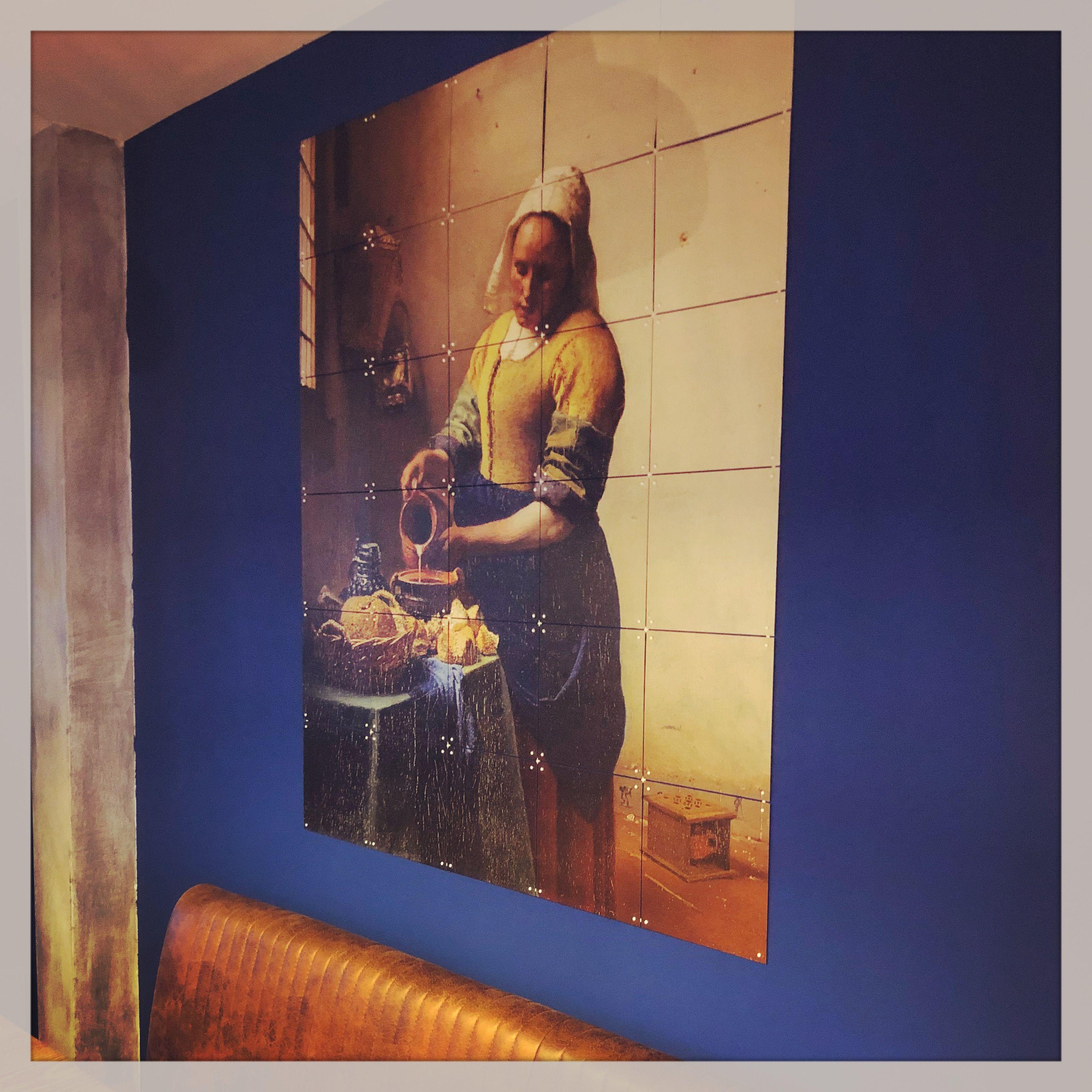 Muurverf Histor Color Collection Empire Blue Ixxi 100×120  # Muebles Van Gogh Valladolid