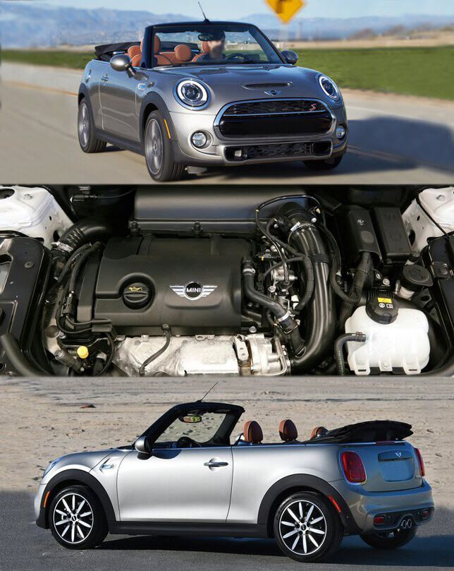 Cool Mini Cooper 2017 2016 S Convertible Gets Efficient Engine Line Up