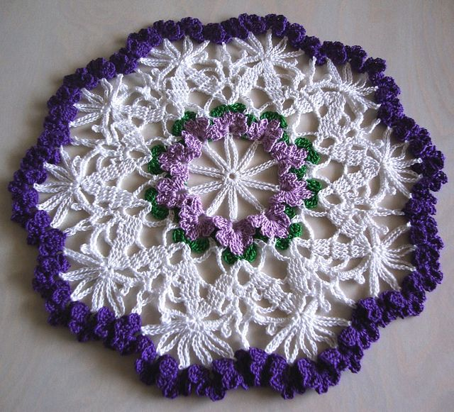 LARGE DOILY CROCHET PATTERN - Crochet — Learn How to Crochet ...