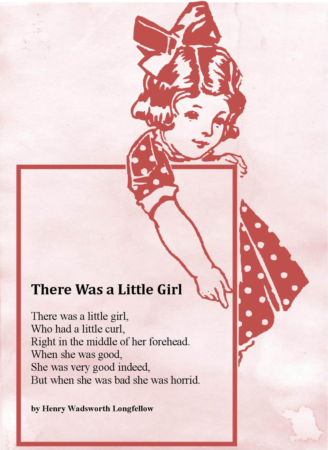 There was a little girl by henry wadsworth longfellow lyrics there was a little girl by henry wadsworth longfellow hexwebz Image collections