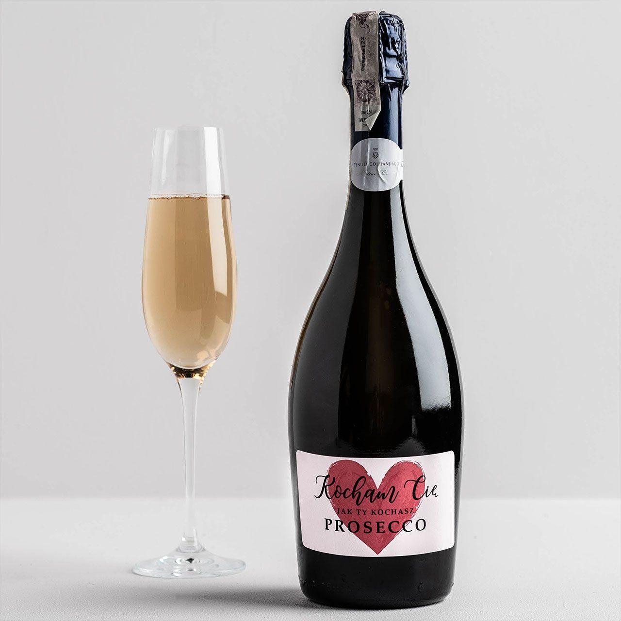 Prosecco Walentynki Walentynki Wino Musujace