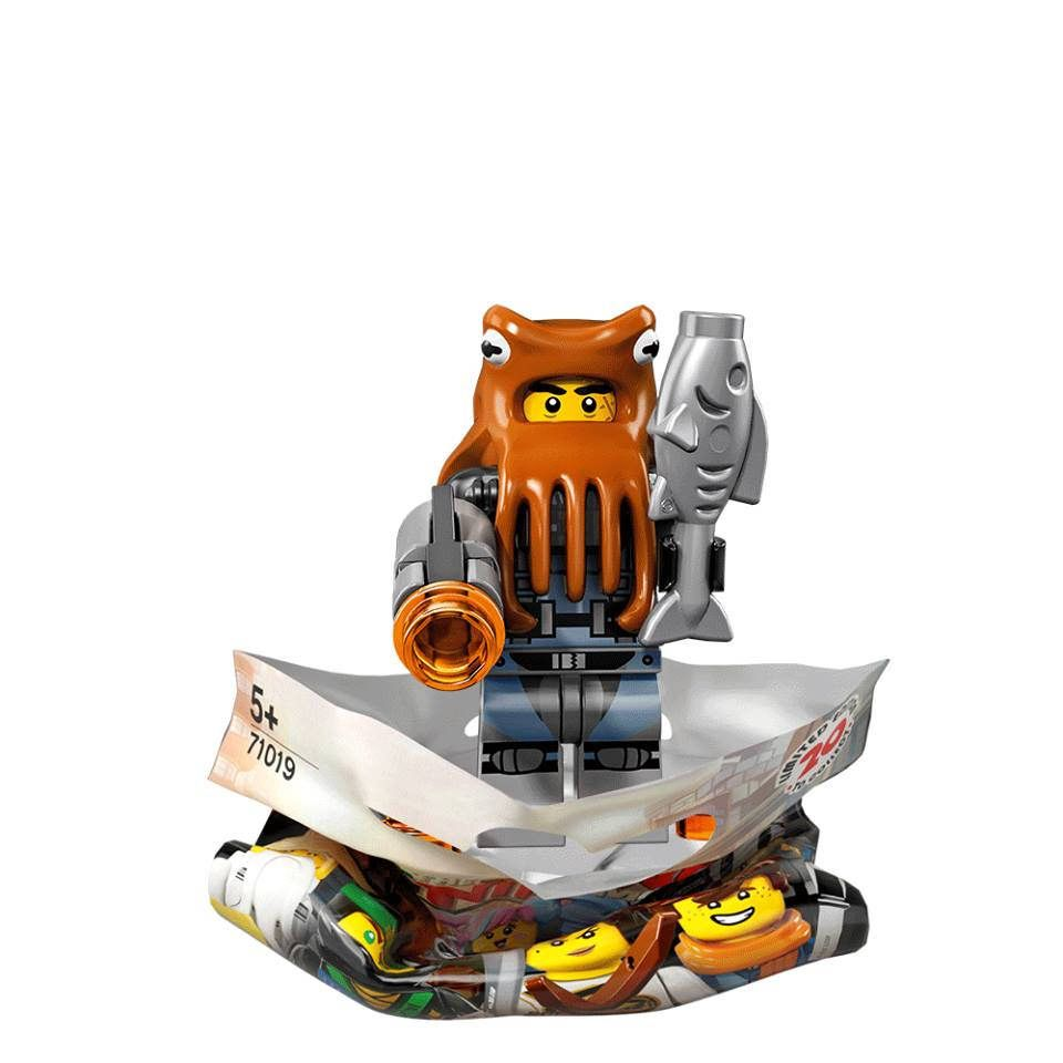 Ninjago Movie Series lego mini figure SHARK ARMY OCTOPUS