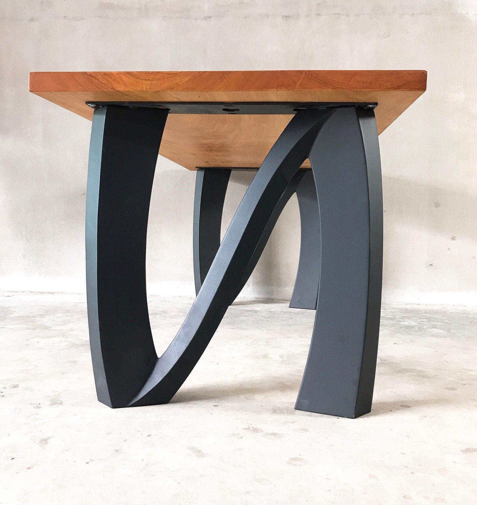 407 Norah Metal Table Legs 28 Bench Legs 16 Etsy Metal Table Legs Metal Table Metal Table Base