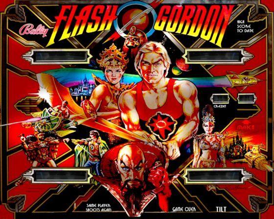 top quality official site new cheap Flash Gordon Pinball, a very short story. | Flash gordon ...