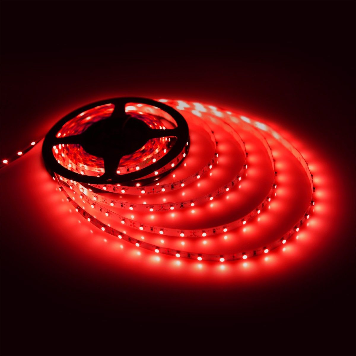 12v flexible led strip rope lights red 2835 smd led 164ft 5m flexible led strip lights red 12v 300 units 3528 leds non aloadofball Image collections
