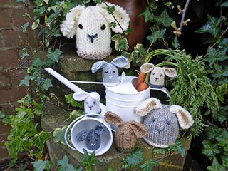 The bunnies pattern by sylvia leake cosy bunny and easter explore cute bunny easter gift and more negle Gallery
