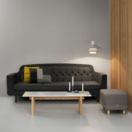 Onkel by Normann Copenhagen is a #sofa that combines the simplicity of modern forms with the soft curves of the olden days. The outer shell of the #sofa has a firm expression, while the cushions are comfortable and inviting. The choice of materials adds a sensuous side with its characteristically Nordic connotations.