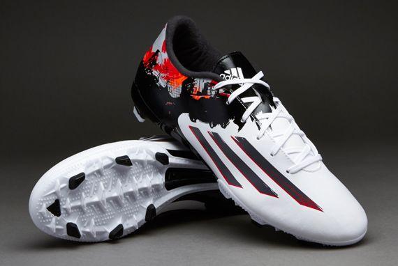 adidas Messi Pibe de Barr10 10 3 FG Boots White adidas UK