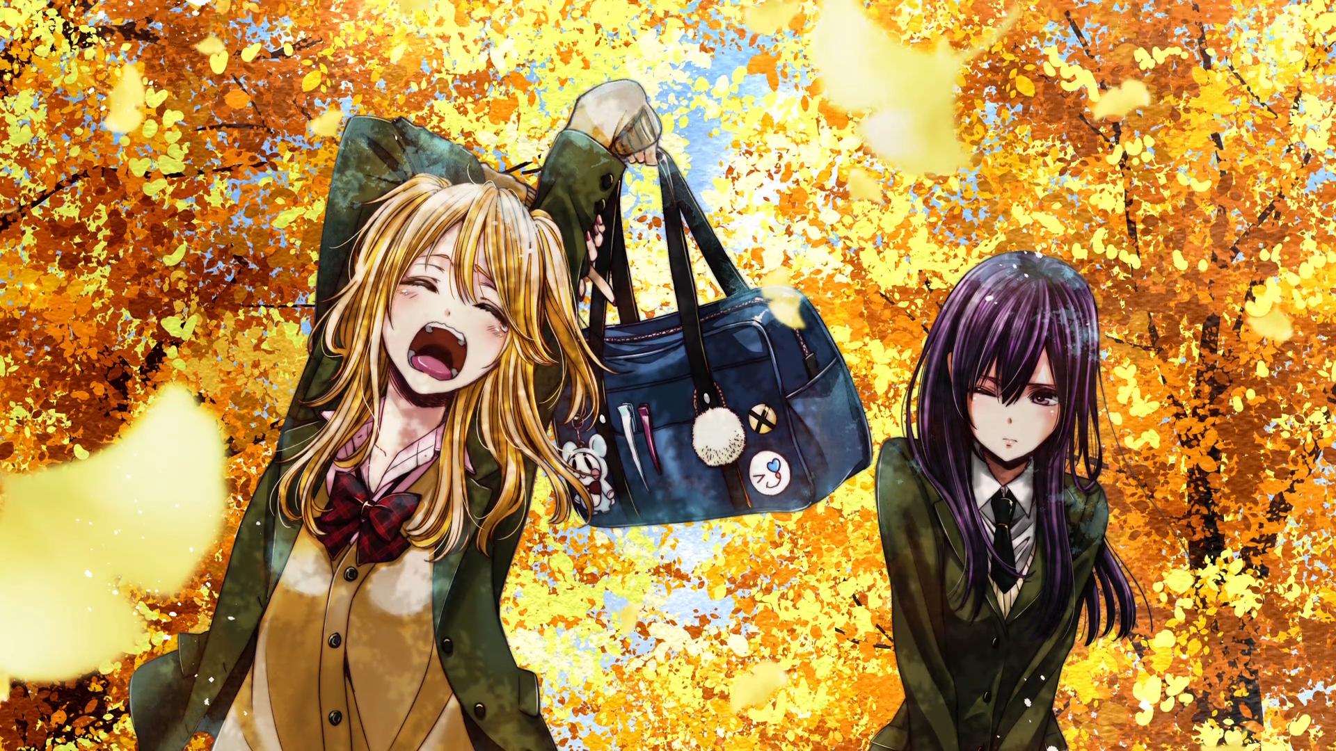 Anime Citrus Mei Aihara Yuzu Aihara Citrus (Anime) Long