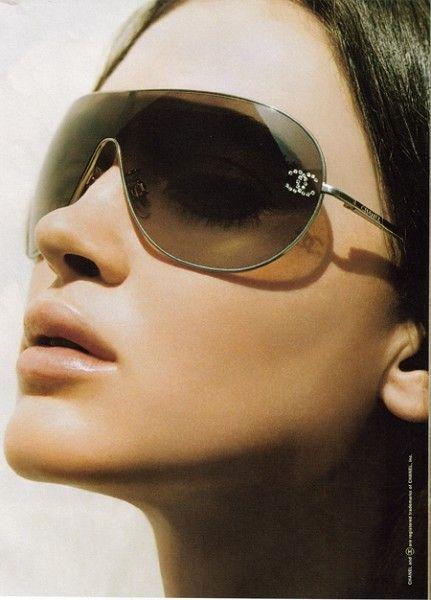 ea8df2aacd Tipo masculinas pero anchas, obvio de Channel. | gafas de sol ...