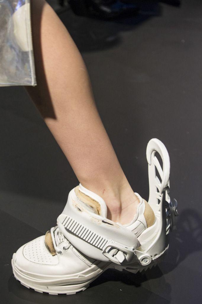 Details At Maison Margiela Couture Spring 2018 Footwear Maison