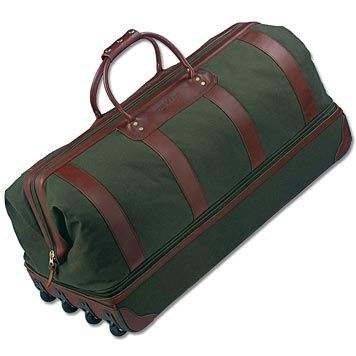 Just found this Rolling Duffle Bag - Battenkill® ...