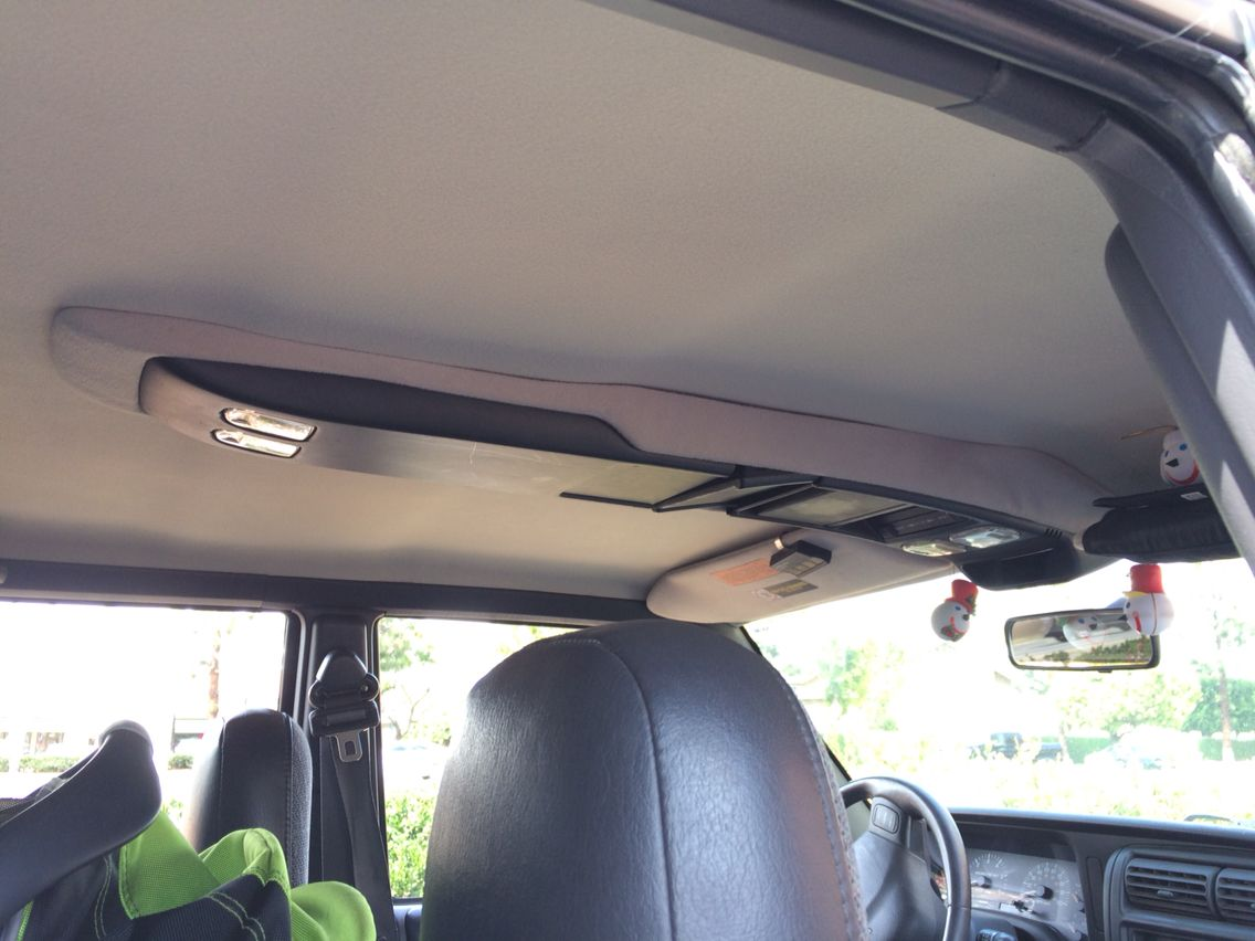 Jeep XJ OEM ceiling compartment Jeep xj, Jeep cherokee