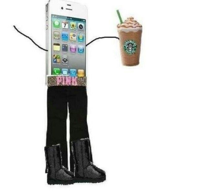 Typical white girl