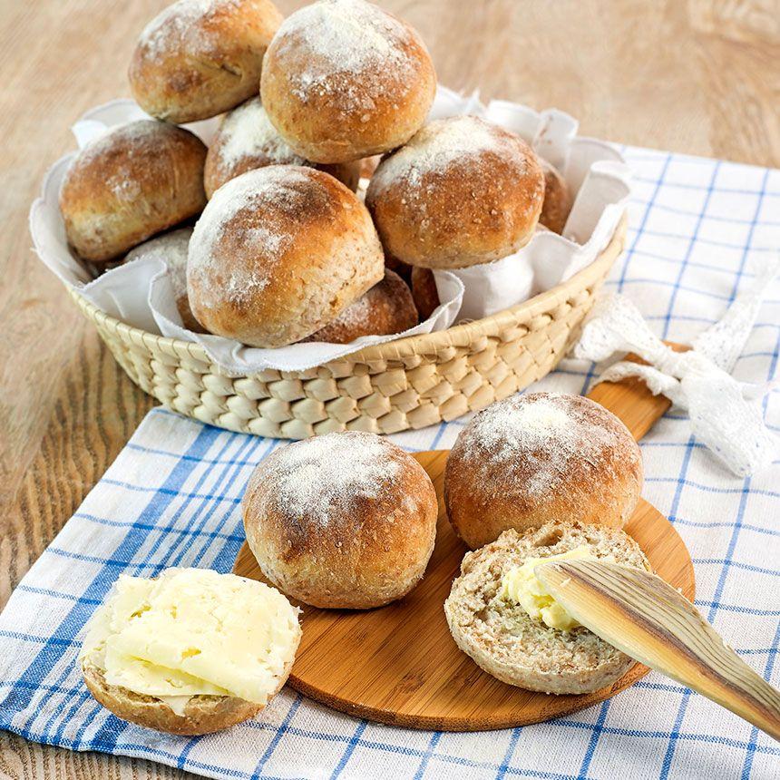 bröd grahamsmjöl vetemjöl