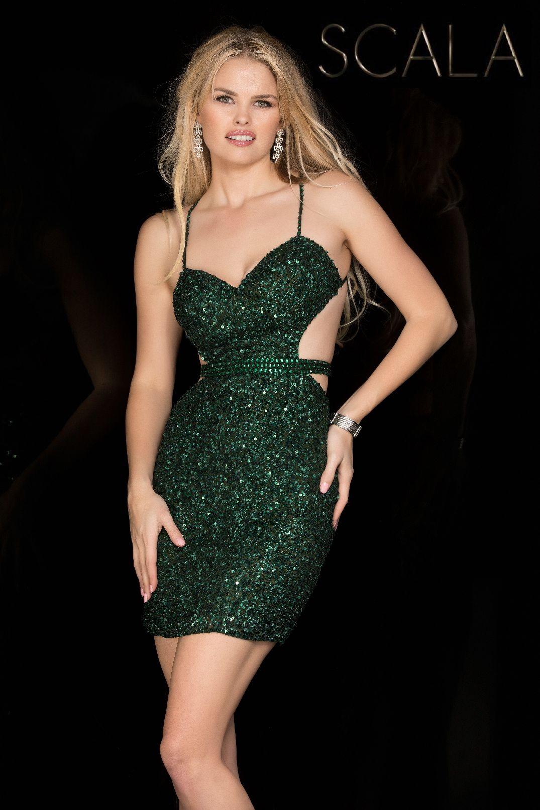 Evening dresses prom dresses by scalaucbrueascucbruecrisscross open