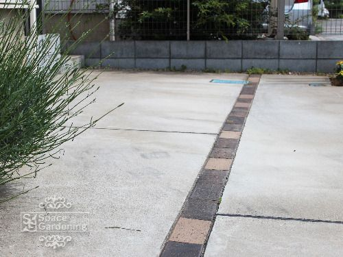 シンプル門柱 四街道市 2020 エクステリア アプローチ レンガ 外構 エクステリア