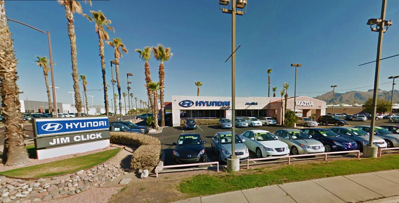 The Jim Click Hyundai Auto Mall Is Located At The Tucson Auto Mall In  Tucson Arizona