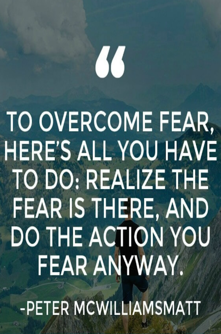 Fear Quotes 100 Fear Quotes To Crush Your Fears  Psychology Related Posts