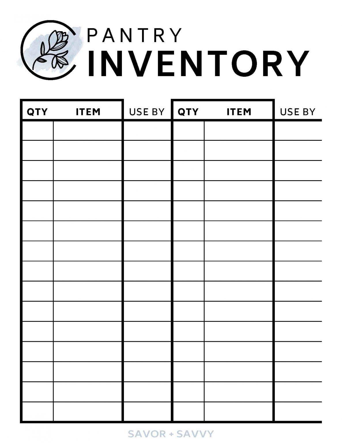 Free Kitchen Organization Printables To Help You Save