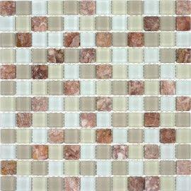 Kitchen Tile Backsplash Glacier Mountain Squares Fire And