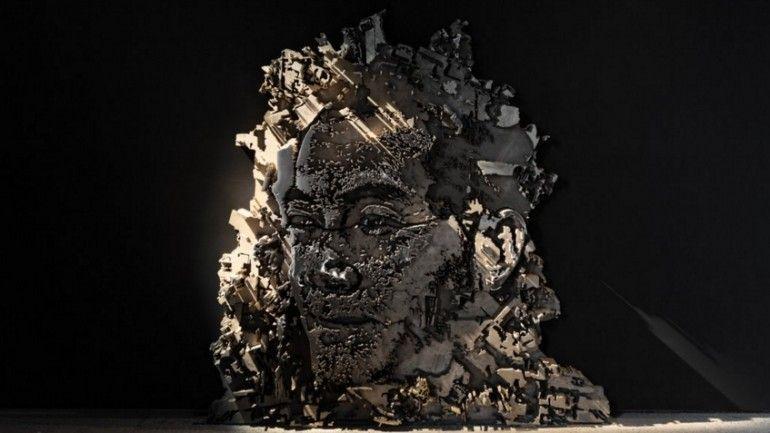 Vhils realiza a sua primeira exposição em Hong Kong: Detritos - Observador