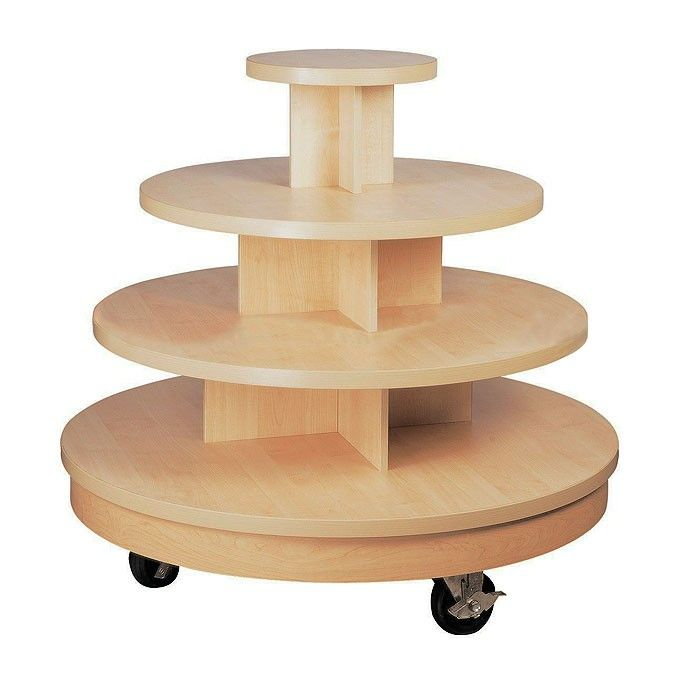 4 Tier Display Table D4t289 498, 3 Tier Round Display Table