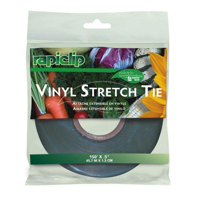 "Lusterleaf 150' x .5"" Rapiclip Vinyl Stretch Tie * Vinyl stretch tie * 150' x .5"" #hometools #homeequipment #homedepot #houseneeds"