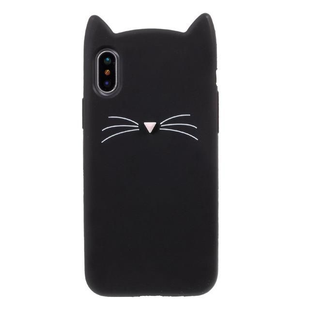 buy popular bfb6f 9a9cb Adorable Cat Shaped Case for iPhone X – SaviCat | Cell Phone Cases ...