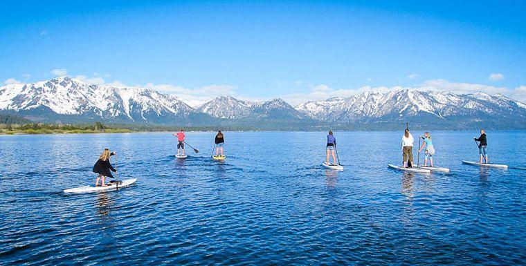 Lake tahoe paddleboarding guide south lake tahoe south
