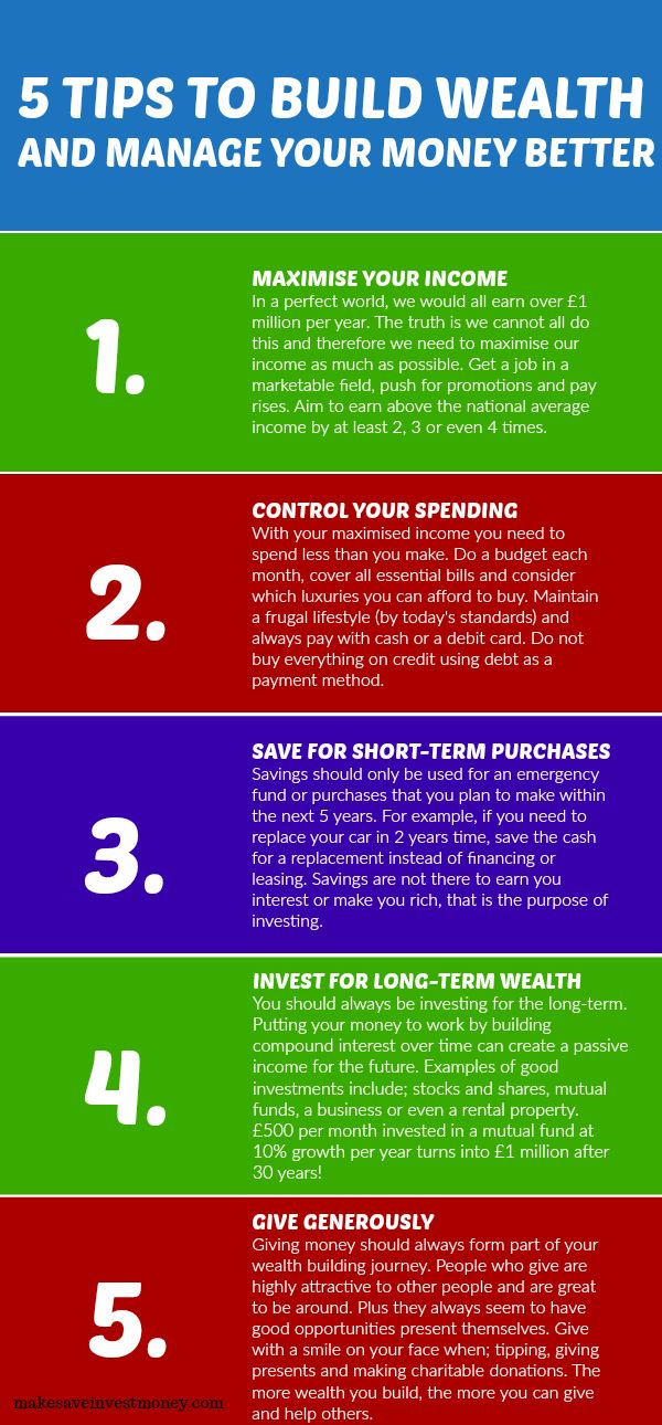 These Are My 5 Tips To Build Wealth Based On The Lives Of