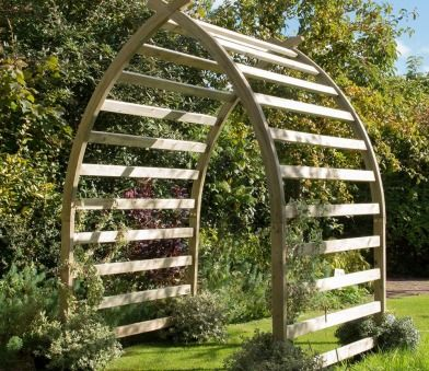 Forest Whitby Extended Arch Garden Archway Garden 400 x 300