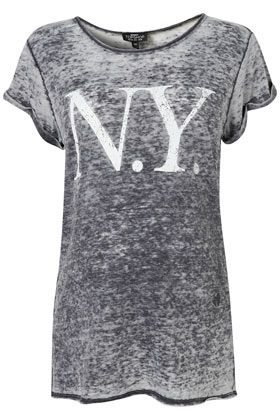 Maternity NY Burnout Tee