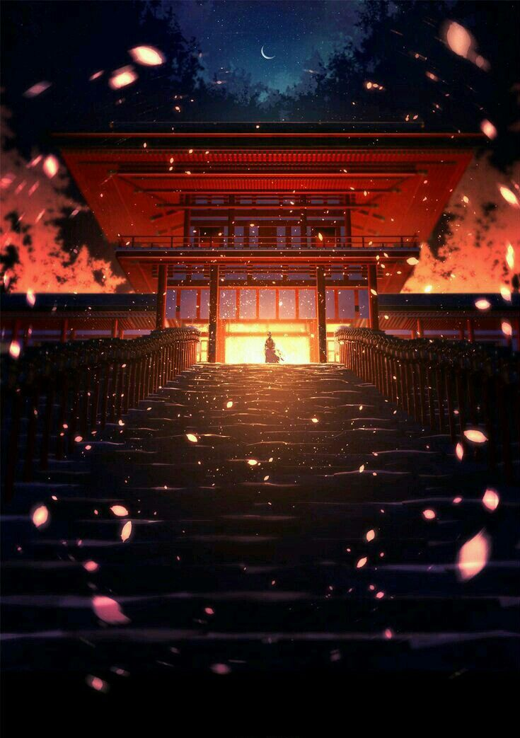 Alone With Your Memories Anime Scenery