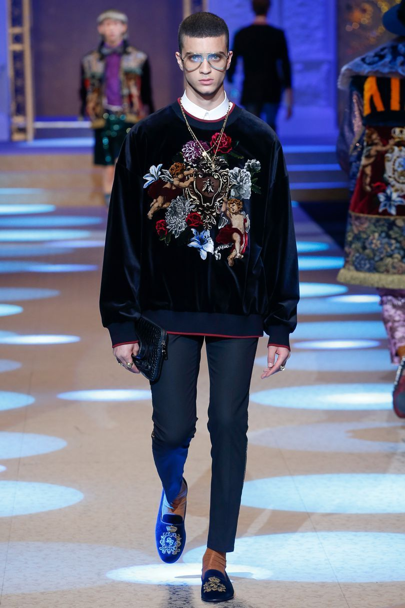 Dolce u gabbana autumnwinter menswear british vogue