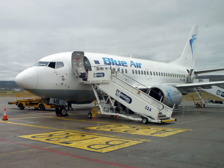 Constanța Paris Cu Blue Air Din 29 Aprilie 2017 Blue Air Constanta Boeing 737