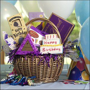 Happy birthday gift basket birthday gifts pinterest birthday happy birthday gift basket negle Choice Image