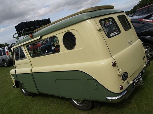 Campervan Bedford CA with porthole, my favorite British camper. Would love to drive this around Cornwall