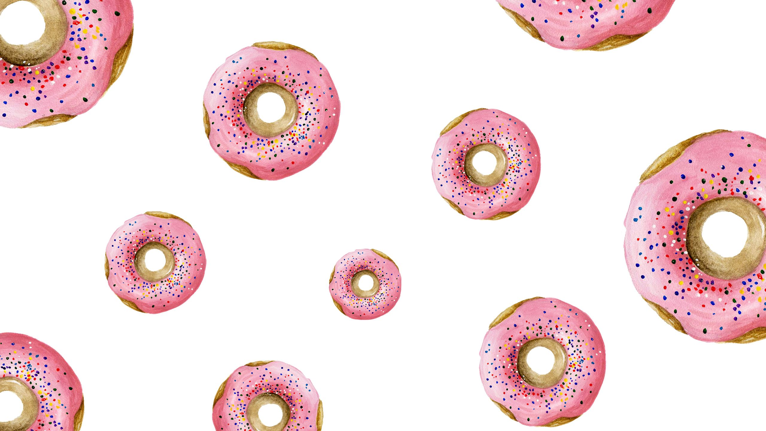 Downloads Donut Wallpaper Simple + Beyond Pink donuts