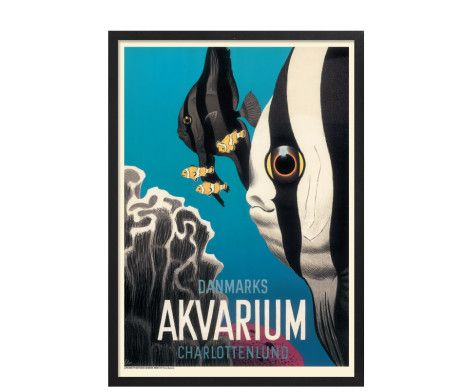 Arne Ungermann - Danmarks Akvarium   hos Plakatgalleri.dk