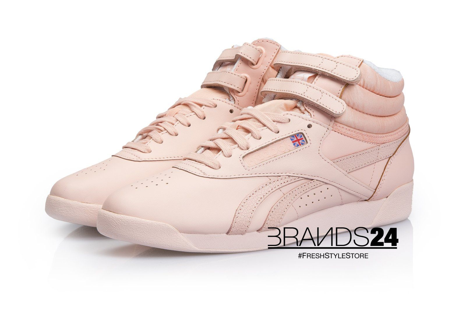 Reebok Freestyle Hi Spirit Coral GlowThe Freestyle first made its ... a448f41fb1f
