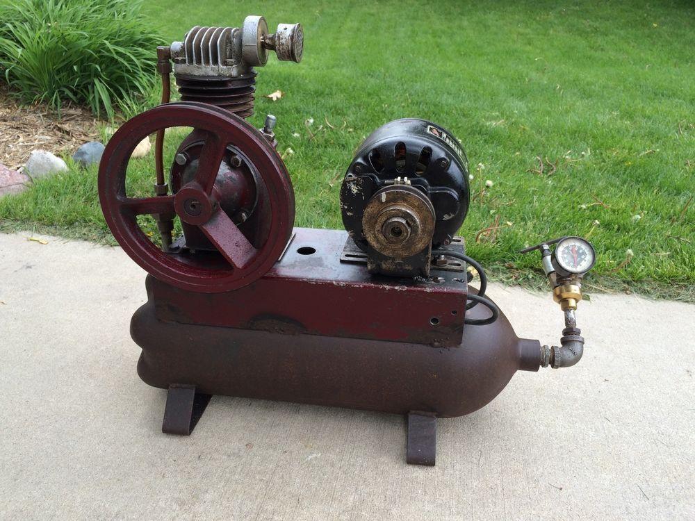 Asis/parts repair vintage saylor beall air compressor