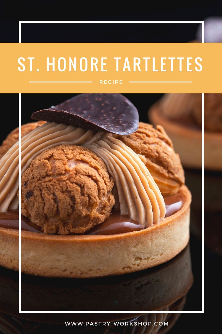 Photo of St. Honore Tartlettes – Tarte St. Honore
