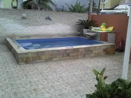 Resultado de imagen para piscina de fibra para quintal