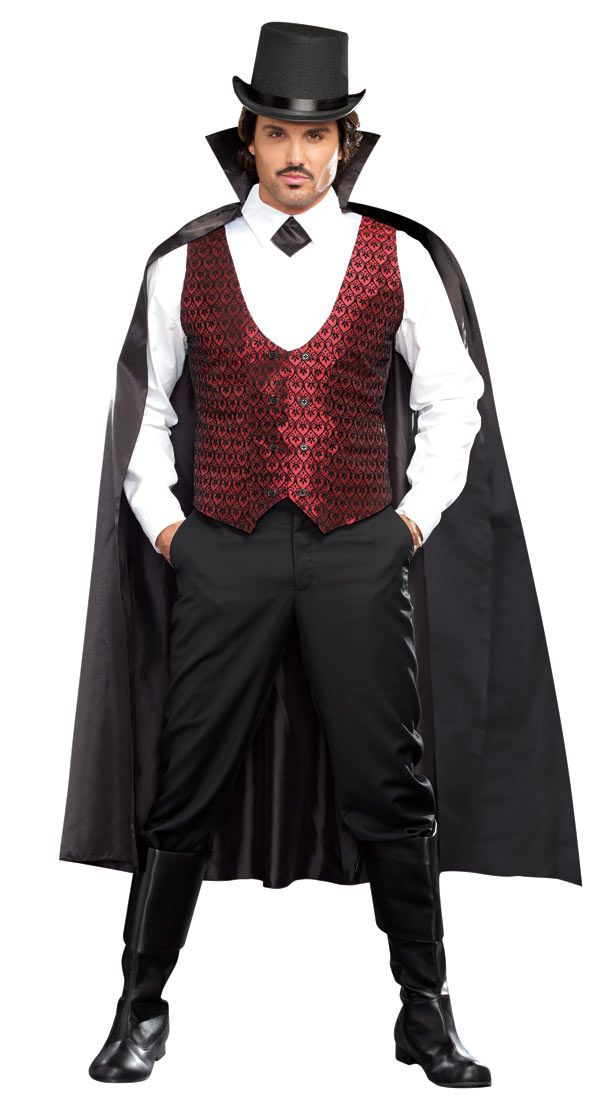 With you dracula adult costume
