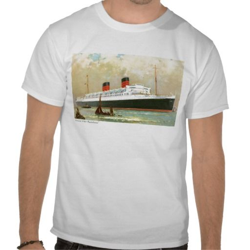 RMS Mauretania Cunard Lines Passenger Ship Shirts #Ship #Gifts Postcards,Stickers,Mugs,Hats,Bags,Keychains,Gifts.