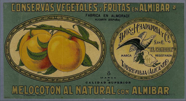 Etiquetas de alimentos.. Grabado — 1900-1950 | CHuCHi láminas y ...